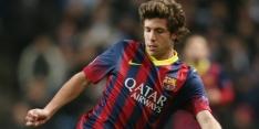 FC Barcelona vier jaar door met Sergi Roberto