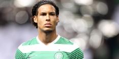 Van Dijk helpt Celtic met late goal aan koppositie