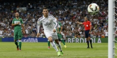 Ronaldo goud waard voor Real na vroege achterstand