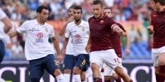 Destro maakt wereldgoal op verjaardag Totti, Roma wint