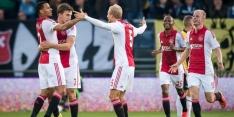 Ajax dankzij hattrick Sigthórsson ruim langs NAC
