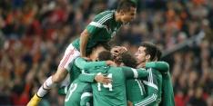 Spectaculair gelijkspel Guardado met Mexico