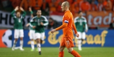 Tete en Riedewald bij Oranje, Robben nieuwe aanvoerder