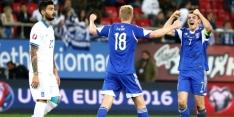 Groep F: Faeroër Eilanden duwt Grieken in de put