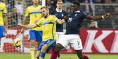 Frankrijk verslaat Zweden door laat doelpunt Varane