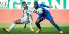 Geblesseerde Hoesen verlaat training FC Groningen