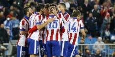 Atlético verkleint marge met Real in overschaduwd duel