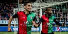 NEC haalt uit, Roda JC met moeite langs negental