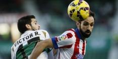 Atlético Madrid nadert Real met zege bij Elche