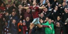 West Ham United rolt Hull City in tweede helft op
