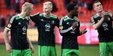 """Feyenoord-debutant geniet: """"Bijna één grote rondo"""""""