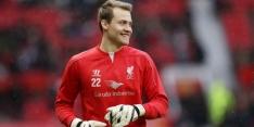 Doelman Mignolet tekent nieuw contract bij Liverpool