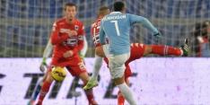 Lazio voorlopig zonder smaakmaker Anderson