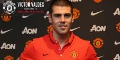 Valdés na ongelukkig huwelijk weg bij Manchester United
