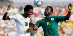 Sow schiet Senegal in slotseconde langs Ghana