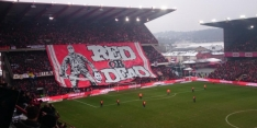 Eén Standard-fan bestraft voor Defour-spandoek