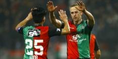 NEC en Roda JC schrijven drie punten bij, drama RKC