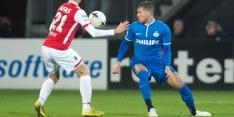PSV om tafel met Bruma en Oss-keeper Koopmans