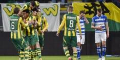 ADO na sensationeel slot voorbij gehavend PEC Zwolle