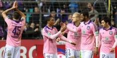 Anderlecht pakt ondanks vroeg rood drie punten