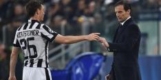 Routinier verlengt bij Juve, Caceres wellicht naar Milan