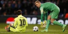 """Messi roemt uitblinker Joe Hart: """"Een fenomeen"""""""