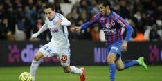 Marseille geeft 2-0 voorsprong weg tegen Caen