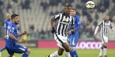 Pogba redder van Juventus met laat doelpunt