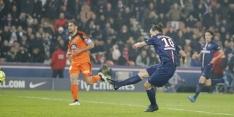 Ibrahimovic leidt Paris SG met hattrick naar koppositie