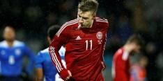'Lord' Bendtner schiet Denemarken langs VS