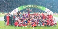 Bayern-Dortmund in beker, Dost treft derdeklasser