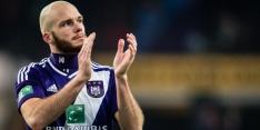 Winnend Anderlecht blijft tweede, Nuytinck trefzeker