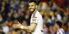 Valencia dankzij trefzekere Negredo vrijwel zeker verder