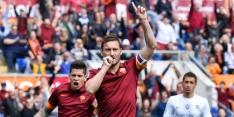 Totti, Dzeko en Keita vullen ziekenboeg AS Roma