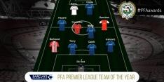 Zes Chelsea-spelers in Premier League-elftal van het jaar