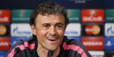 """Luis Enrique: """"Juventus heeft vergelijkbare speelstijl"""""""