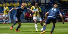 Vitesse ondanks doelpuntrijk duel de play-offs in