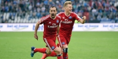 Hamburger SV blijft na Houdini-act in de Bundesliga