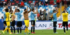 Titelverdediger Uruguay begint met moeizame zege