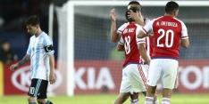 Argentinië geeft zege weg in openingsduel met Paraguay