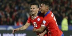 Chili wint ruim en is door, Mexico uitgespeeld op Copa