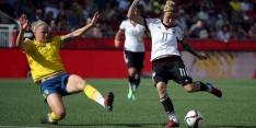 Duitsland bereikt kwartfinale na ruime zege op Zweden