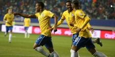 Argentinië morst weer, Brazilië wint ondanks goal Santos