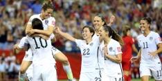 Vrouwen VS bereiken finale na Duits unicum