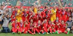 'Lionesses' grijpen voor het eerst medaille op WK