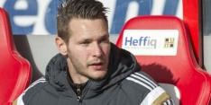 SC Heerenveen in gesprek met keeper Mulder