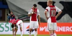 Ajax geeft voorsprong uit handen tegen tiental Rapid