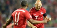 IJverige Robben trefzeker voor Bayern in benefietduel