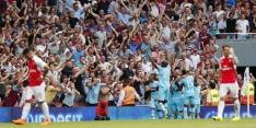 Jammerlijke start voor Arsenal in Premier League