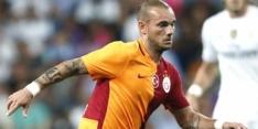 Sneijder maakt twee doelpunten voor Galatasaray